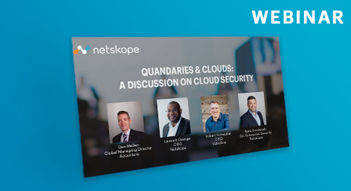 Quandaries and Clouds: A Discussion on Cloud Security