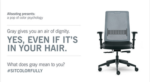ALLSEATING EXPANDS M.O.™ SEATING LINE'S MISSION TO BRING AFFORDABLE, ATTRACTIVE ERGONOMICS TO THE WORKPLACE