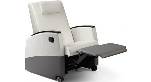 DESIGNER PAGES: AT HEALTHCARE DESIGN CONFERENCE: FOSTER SLEEPER AND RECLINER