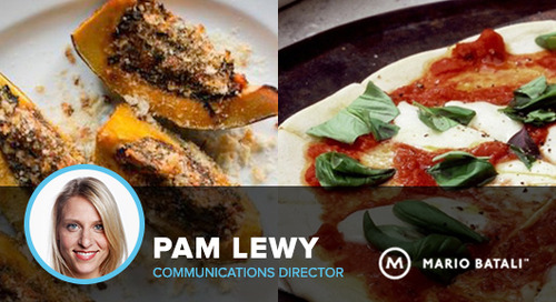 Recap: A chat with Mario Batali's Pam Lewy