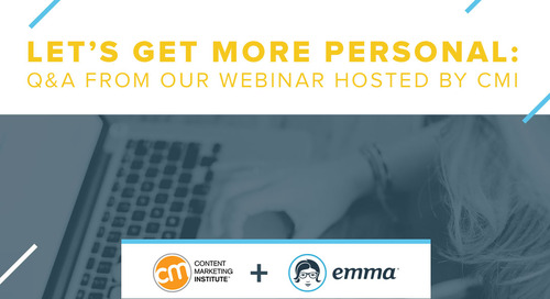 Let's Get Personal: Crafting Truly Valuable Experiences with Email