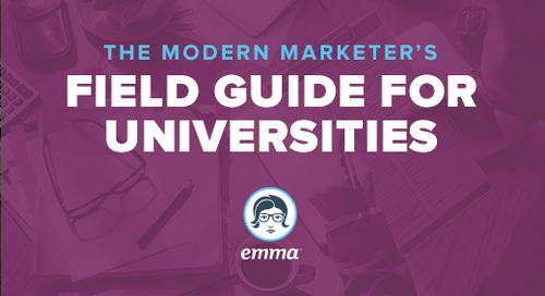 New! The Modern Marketer's Field Guide for Universities