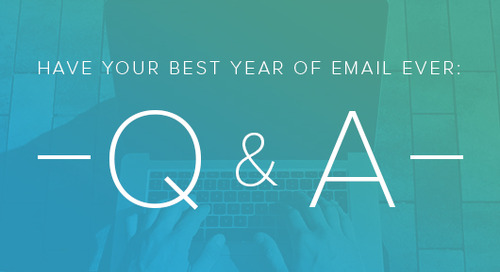 Q&A: Have Your Best Year of Email Ever