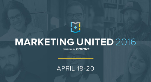 Look who's speaking at Marketing United
