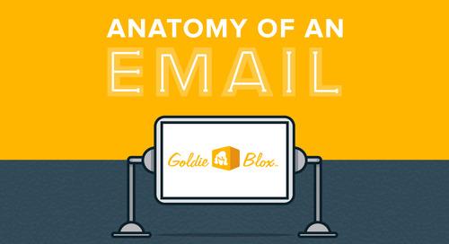Anatomy of an Email: GoldieBlox