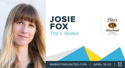 MU Speaker Spotlight: Josie Fox of Tito's Vodka