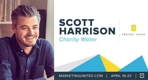 MU Speaker Spotlight: Scott Harrison of charity: water