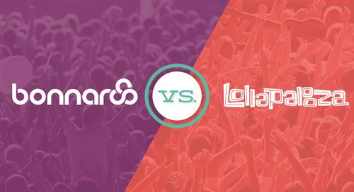 Email showdown: Bonnaroo vs. Lollapalooza