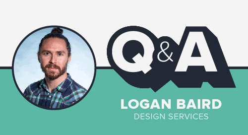 Staffer Q&A with Design Services Lead Logan Baird