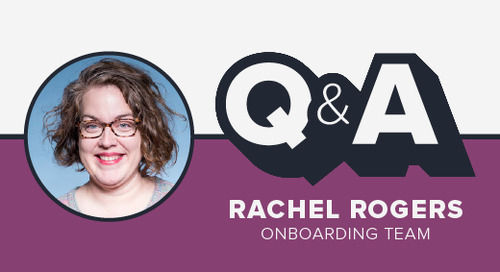 Staffer Q&A with Onboarding Lead Rachel Rogers