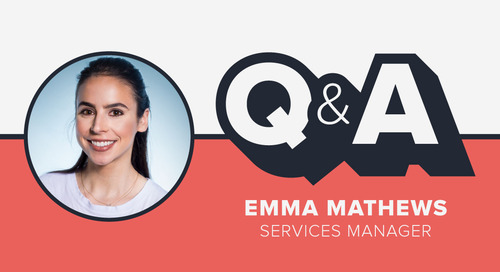 Staffer Q&A with Services Manager Emma Mathews
