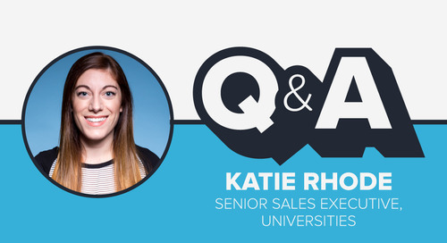Staffer Q&A with Senior Sales Executive Katie Rhode