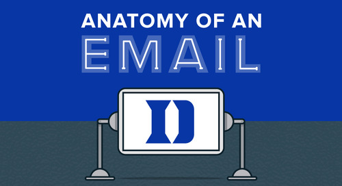 Anatomy of an Email: Duke Athletics