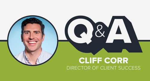 Staffer Q&A with Director of Client Success Cliff Corr