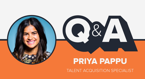 Staffer Q&A with Talent Acquisition Specialist Priya Pappu