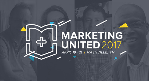 Marketing United 2017 speakers just announced!