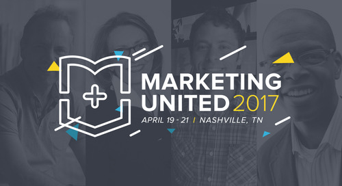 Marketing United 2017 speakers just announced!