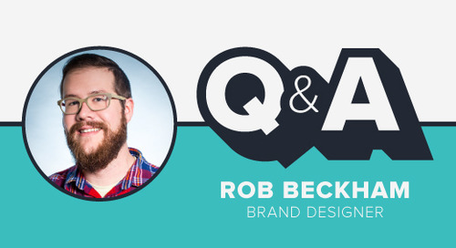 Staffer Q&A with Brand Designer Rob Beckham