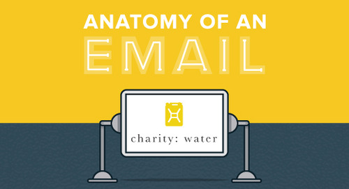 Anatomy of an Email: charity: water
