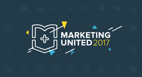 All the slides from Marketing United 2017