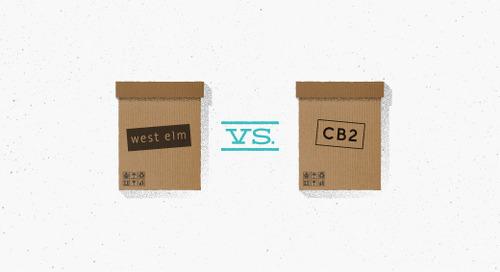 Email showdown: West Elm vs. CB2