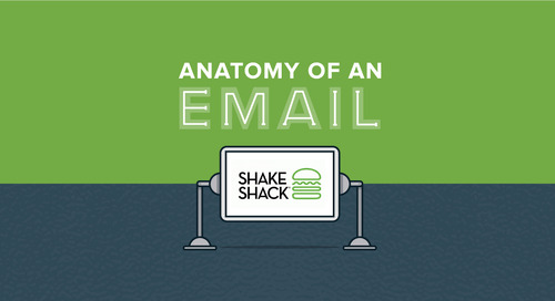 Anatomy of an Email: Shake Shack