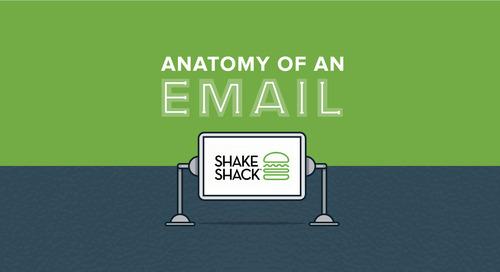 Anatomy of an Email: Shake Shack