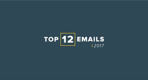 12 of our favorite email examples from 2017