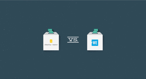 Email showdown: WE charity vs. charity: water