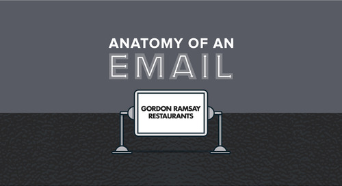 Anatomy of an Email: Gordon Ramsay Restaurants