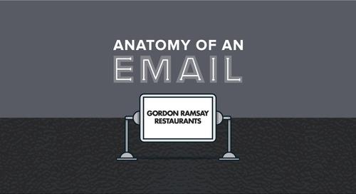 Anatomy of an Email: Gordon Ramsay Restaurants
