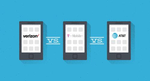 Email showdown: Verizon vs. AT&T vs. T-Mobile