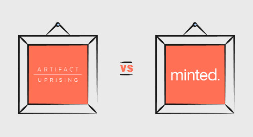 Email Showdown: Artifact Uprising Vs. Minted