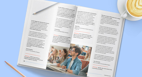 New higher ed guide: 10 Email Campaigns Universities Should Send This Fall