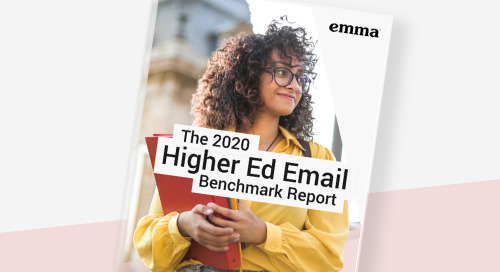 Introducing: The 2020 Higher Ed Email Benchmark Report