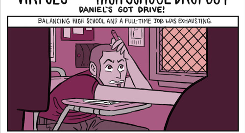 Understanding Why Students Drop Out of High School: Daniel's Got Drive!