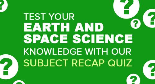 Earth and Space Science Recap Quiz | Science