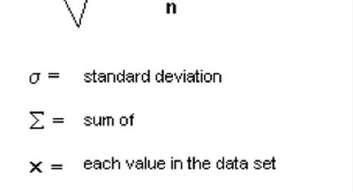 Statistics and Probability Terms | Mathematics