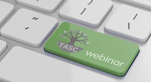 Upcoming TASC Webinar Events