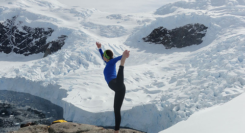 Not Your Average Yoga Holiday: Practicing on an Antarctic Expedition