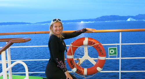 Greenland Explorer Part 1: Guest blog from Lynsey Devon