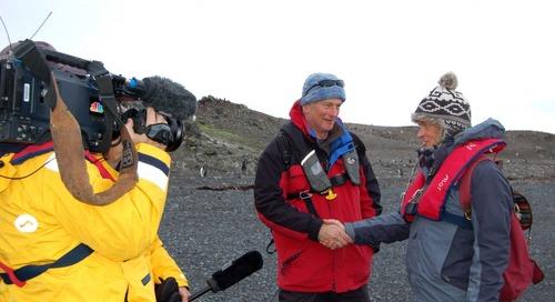 Shackleton & Scott voyage to Antarctica with Quark