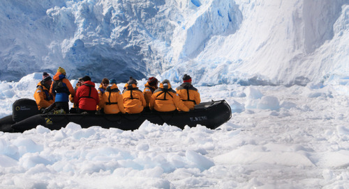 3 Spectacular Antarctic Landing Sites for Travelers: Westpoint, Cierva Cove and Deception Island