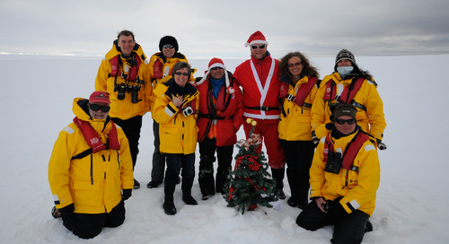 Celebrating the Holiday Season in Antarctica: Our Festive Expedition Story