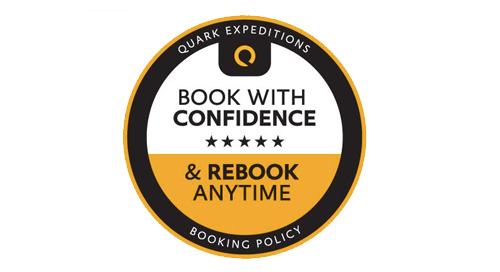 Book with Confidence and Rebook Anytime Policy