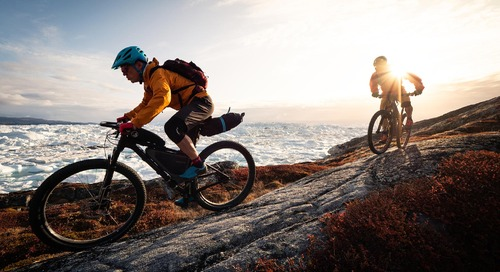 Mountain-biking in South Greenland