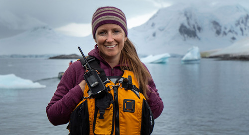 Meet Laurie Di Vincenzo, the first-ever Expedition Leader on Ultramarine