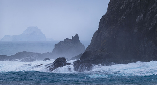 Exploring Elephant Island, Antarctica