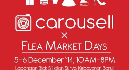 Corousell x FLEA MARKET DAYS Jakarta