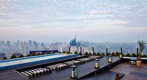 TOP 5 Sky View Restoran Jakarta